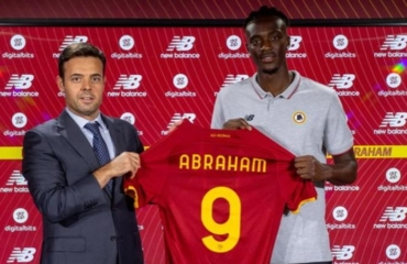 Tammy Abraham joins Roma on a 40 million euro five-year deal