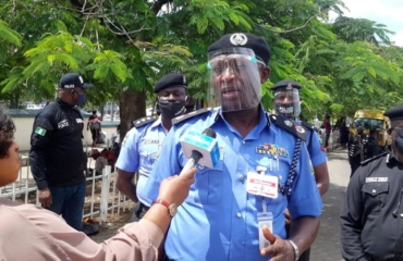 Lagos CP visits family of stray bullet victim; confirms arrest of Sergeant Samuel Phillips