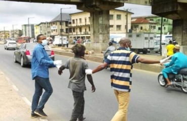 Taskforce rescues 128 beggars/destitutes on Lagos streets