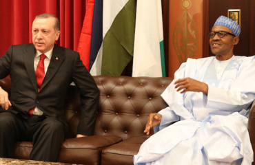 President Buhari welcomes Turkish President on two-day visit